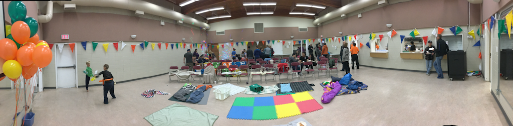 View of the Hall from Community Day 2018