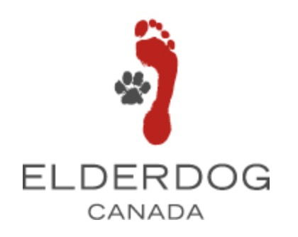 Footprint and Pawprint image as logo for Elderdog Canada